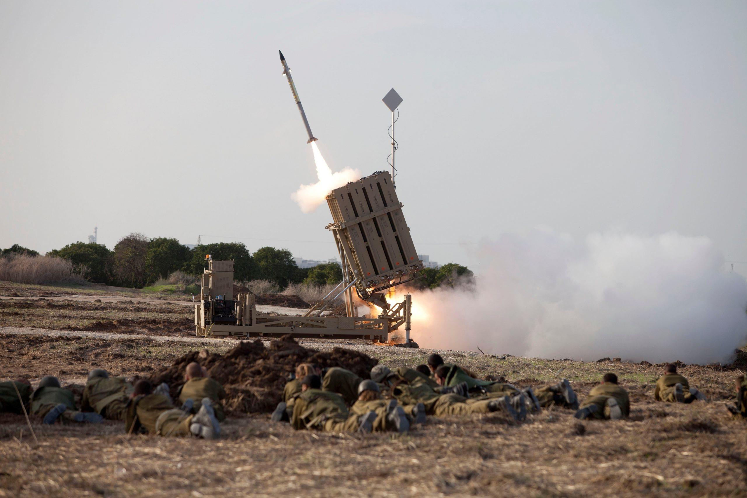 Israel and Gaza exchanged missile strikes
