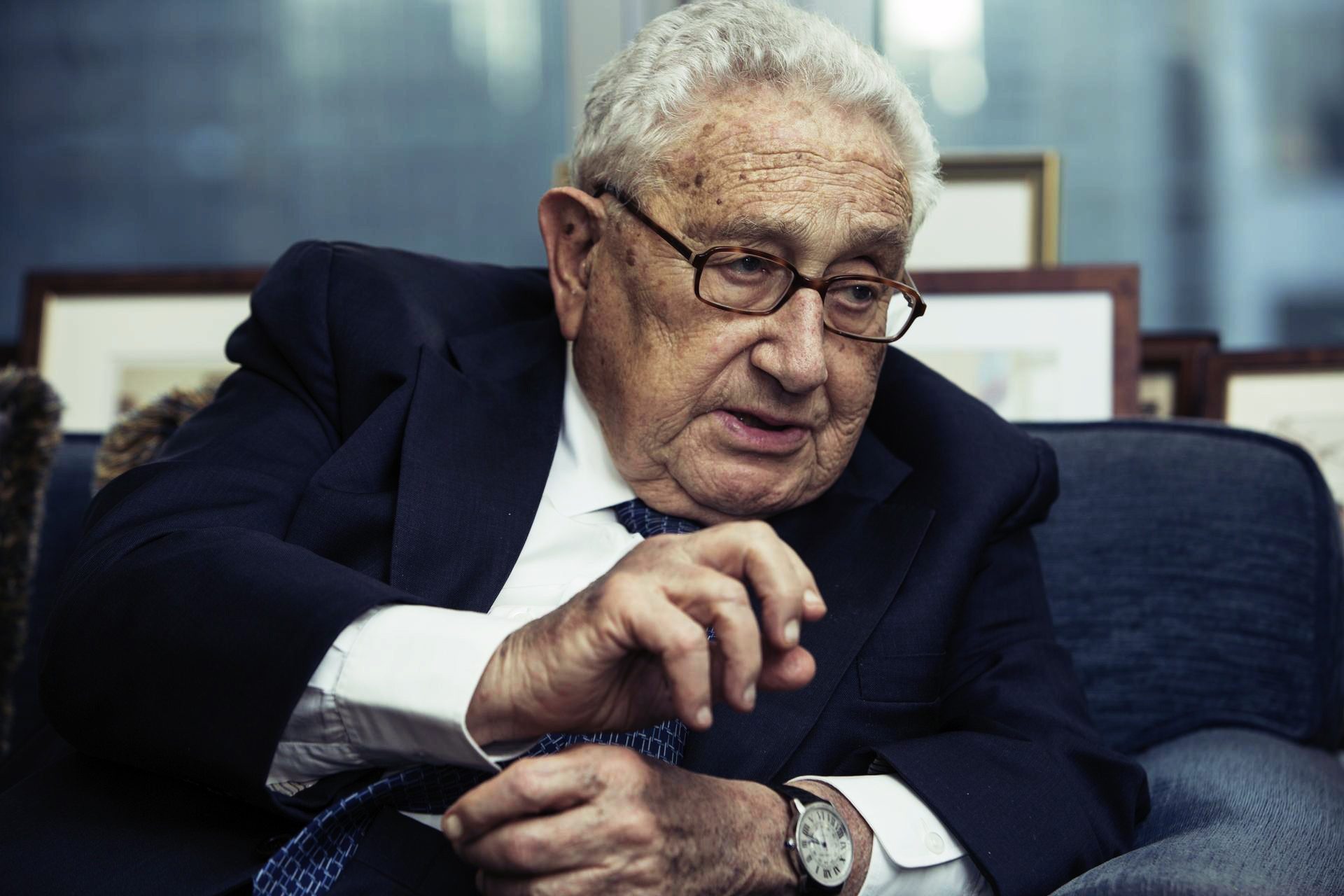 Henry Kissinger has warned of the threat to humanity from the US anti-China campaign