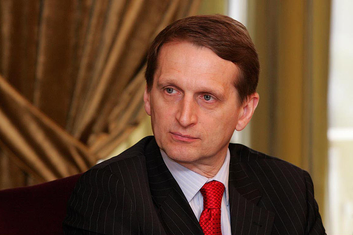 UK and US may be behind SolarWinds hack - Sergey Naryshkin, director of the Foreign Intelligence Service
