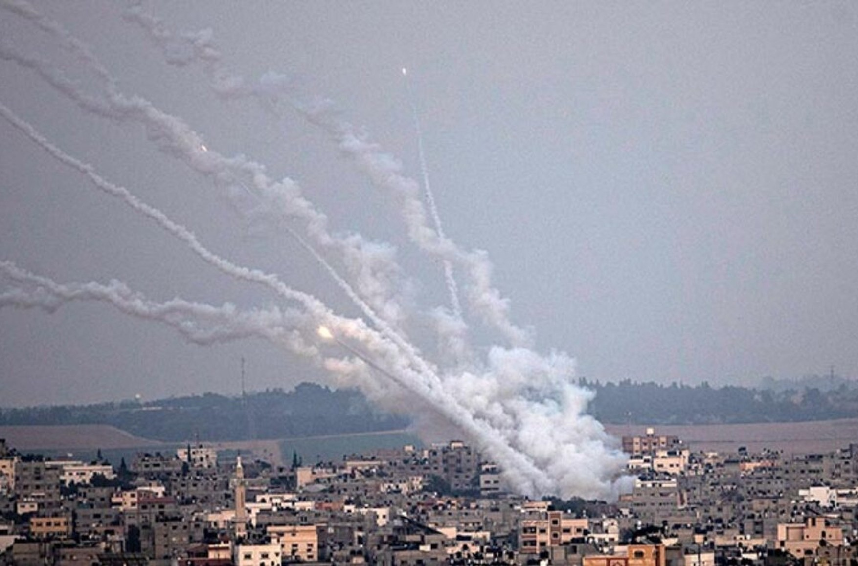 Hamas announced the launch of 50 rockets in the direction of the city of Ashdod