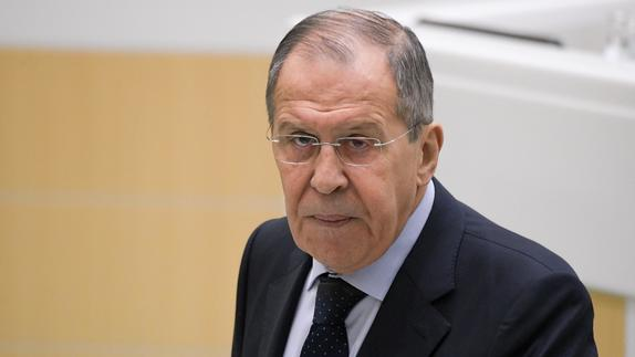 Russian top diplomat says Russia has ideas for a Middle East settlement