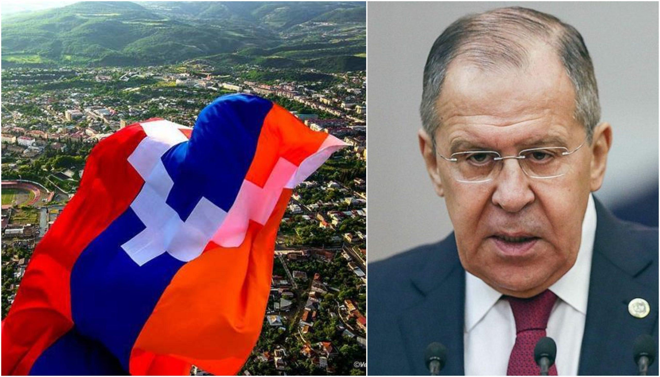 Russian top diplomat says status of Nagorno-Karabakh still needs to be agreed