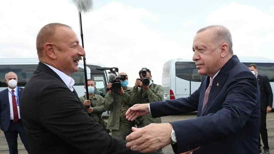 Aliyev and Erdogan arrived in the city of Shusha in Karabakh