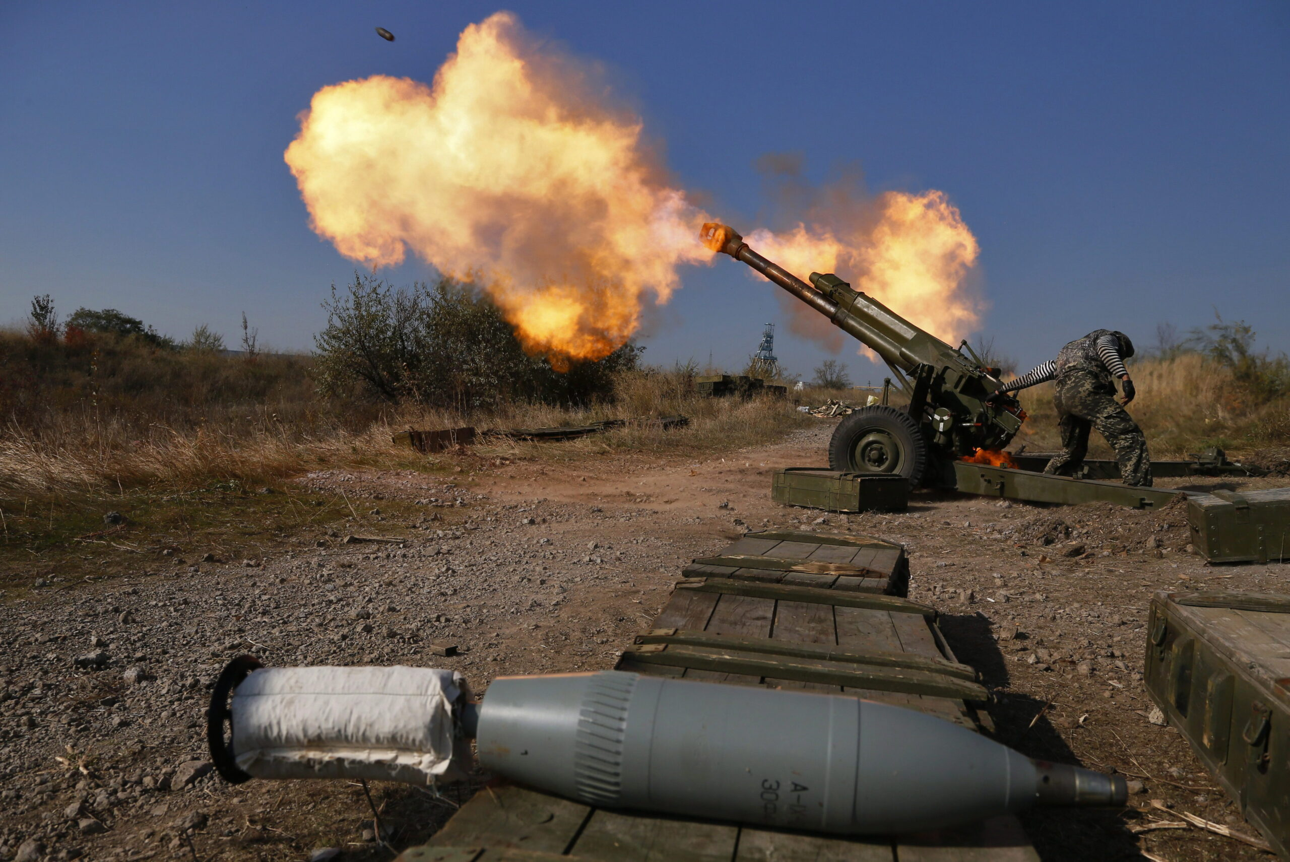 Karatovs again intensify shelling of DPR settlements
