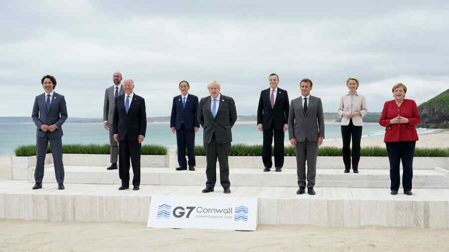 G7 results: China prepares for the first battle of a new cold war, prevents being thrown away from leadership positions