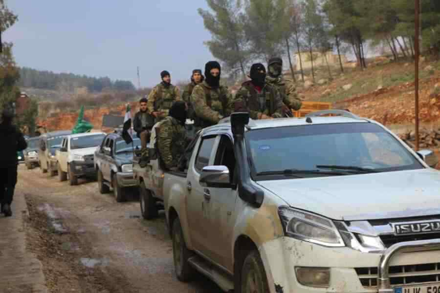 The Russian Defense Ministry announced the transfer of militant units to the area of settlements in Syria