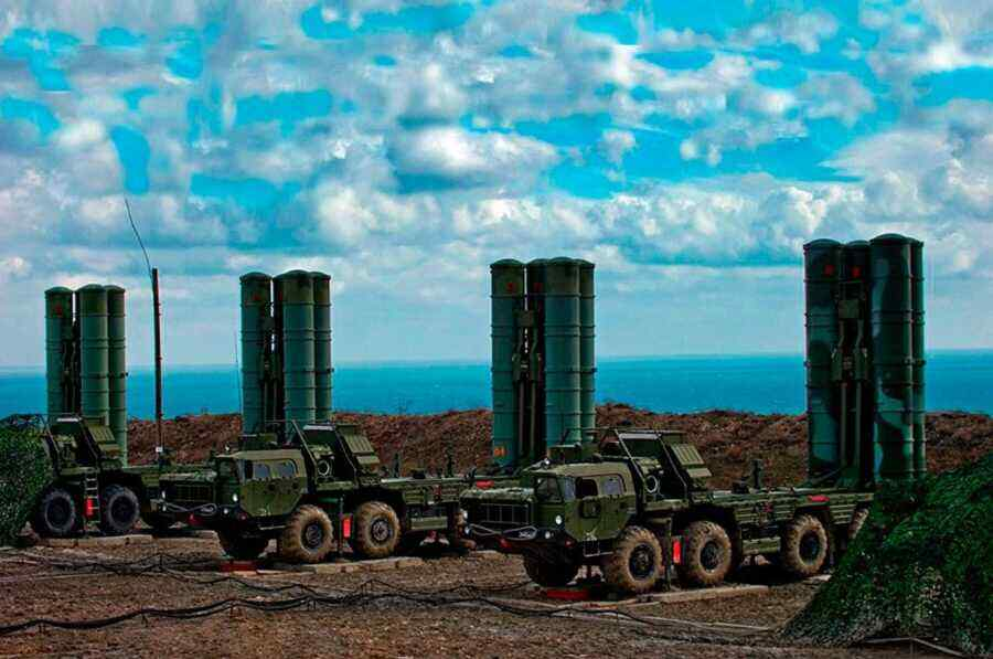 Turkey and the United States have not reached an agreement on the S-400