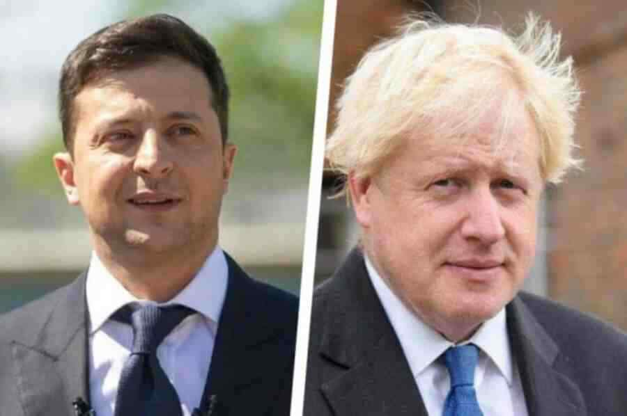 Johnson has promised Zelensky to talk about Ukraine with NATO colleagues