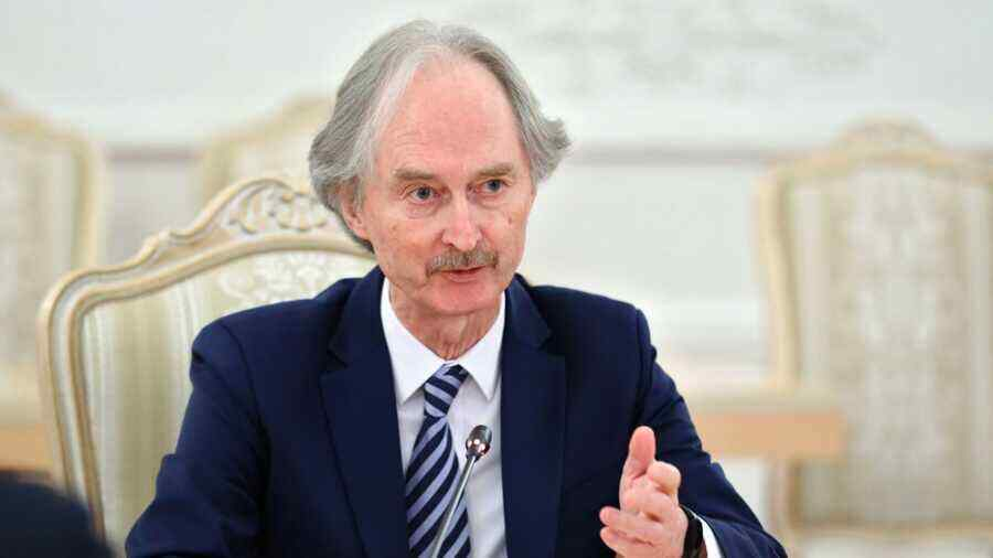 UN special envoy for Syria is going to visit Moscow soon