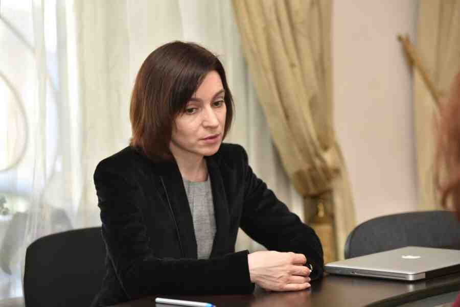 Sandu said the US and NATO allegedly do not influence her political decisions