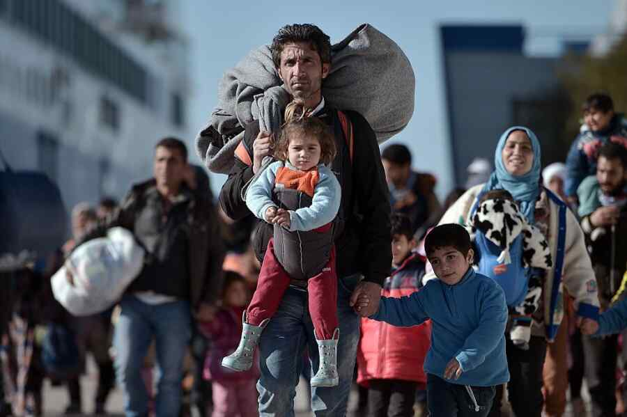UN points out that the number of refugees has increased by 4% in one year