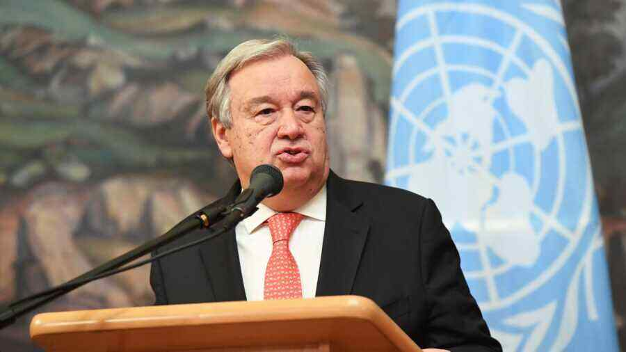 UN Secretary General welcomed joint statement by Putin and Biden