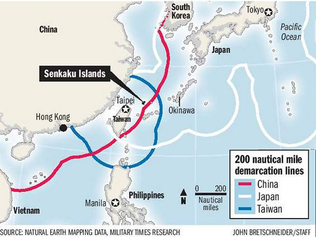 Media: Japan is conducting exercises in case China tries to seize the disputed islands