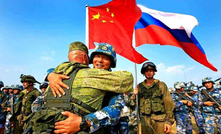 Japan called the military alliance between Russia and China a nightmare for the US