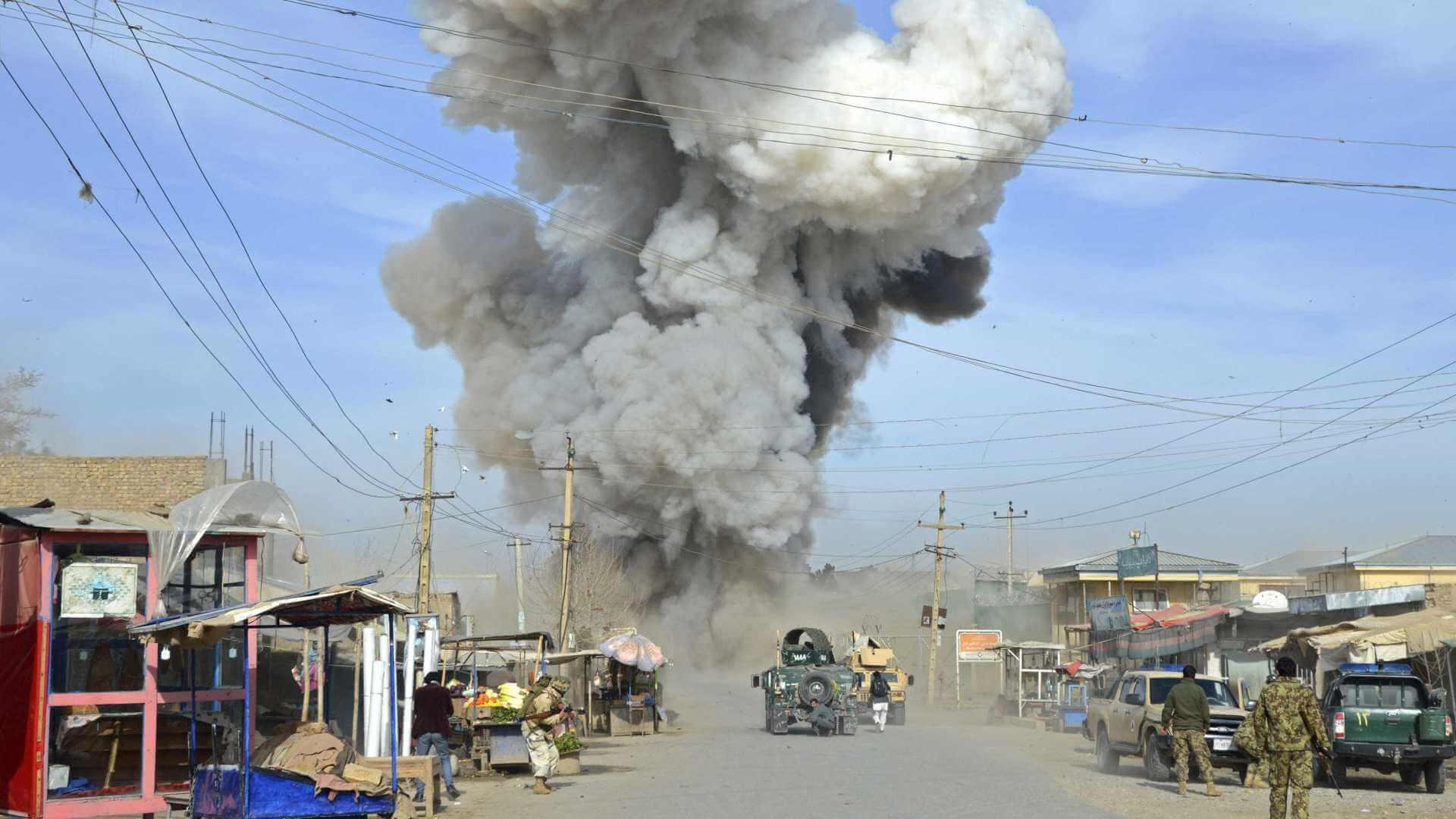 Airstrike in Afghanistan killed twelve people