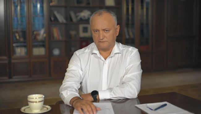 Dodon: West prepares cannon fodder from Moldovans against Russia