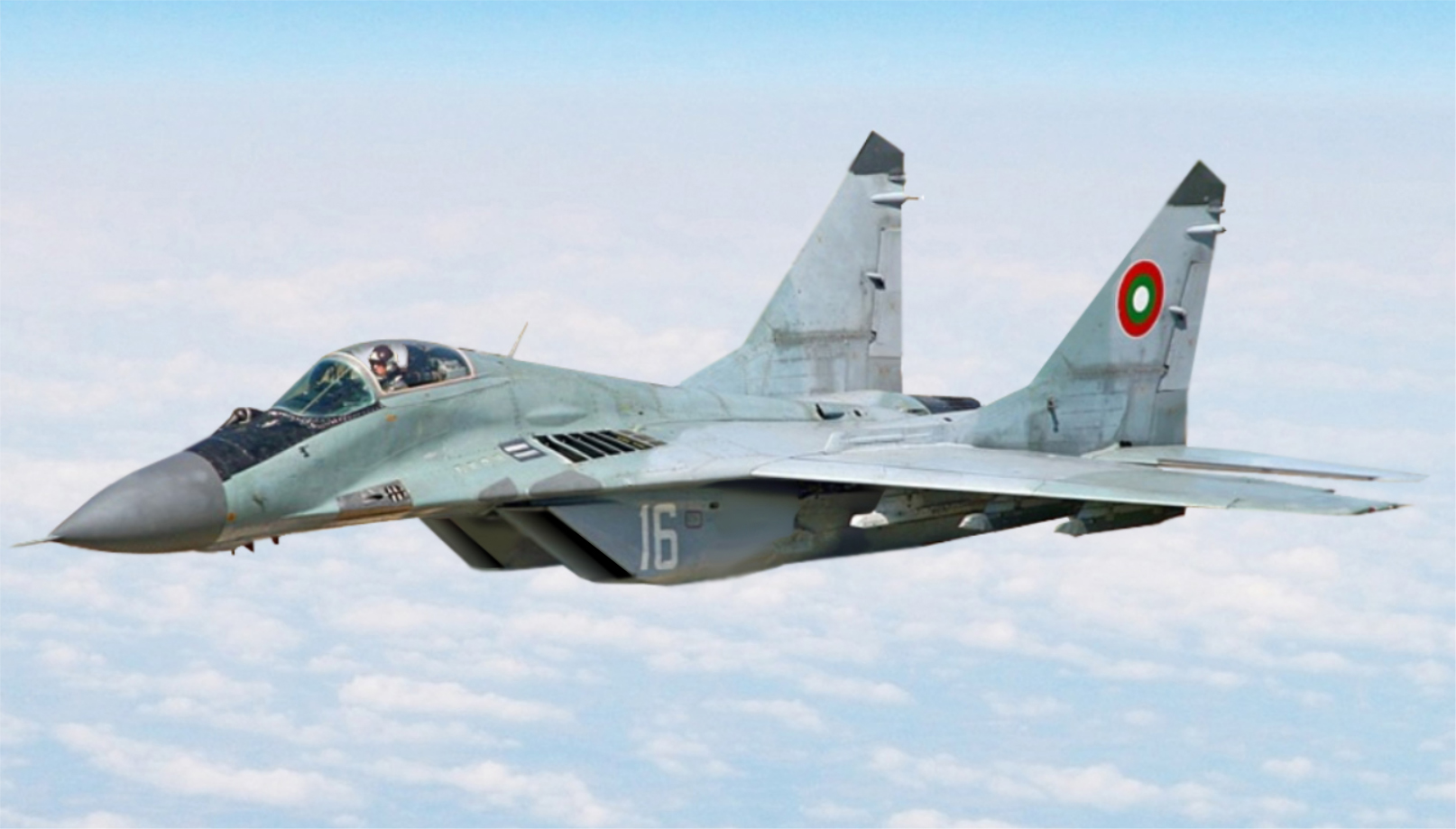Bulgarian Air Force fighter crashed over the Black Sea