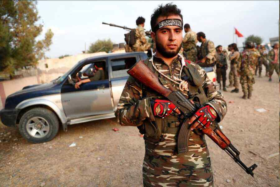 Turkey to send 2,000 Syrian fighters to Afghanistan