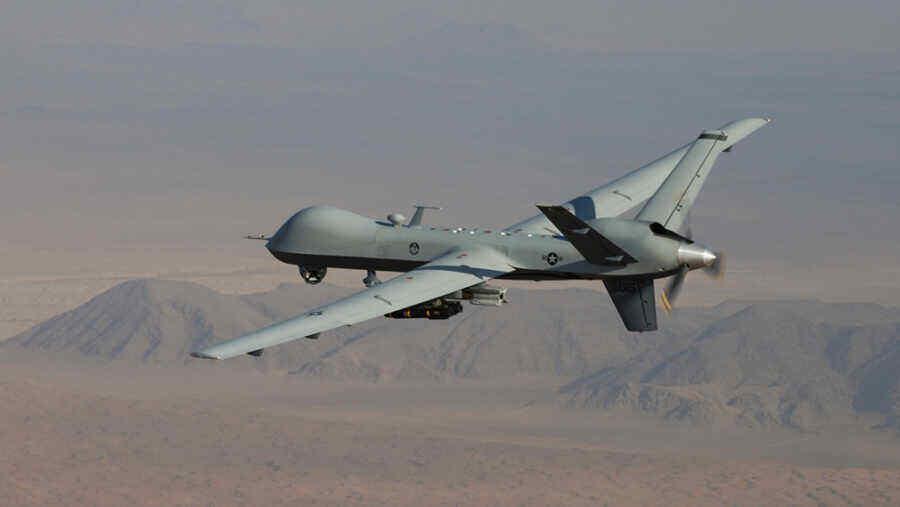 U.S. drone destroyed food vehicle in Syria