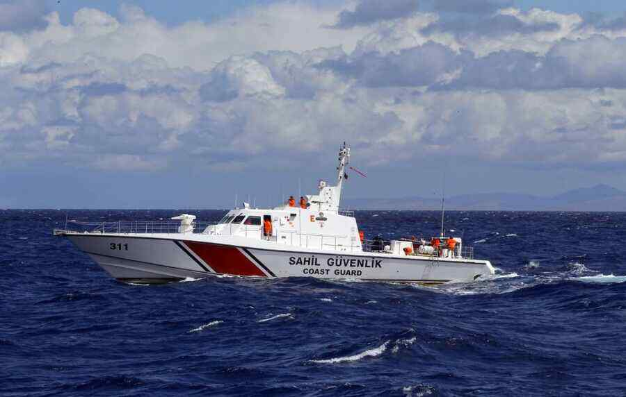 Turkish Coast Guard fired on a boat in Cyprus