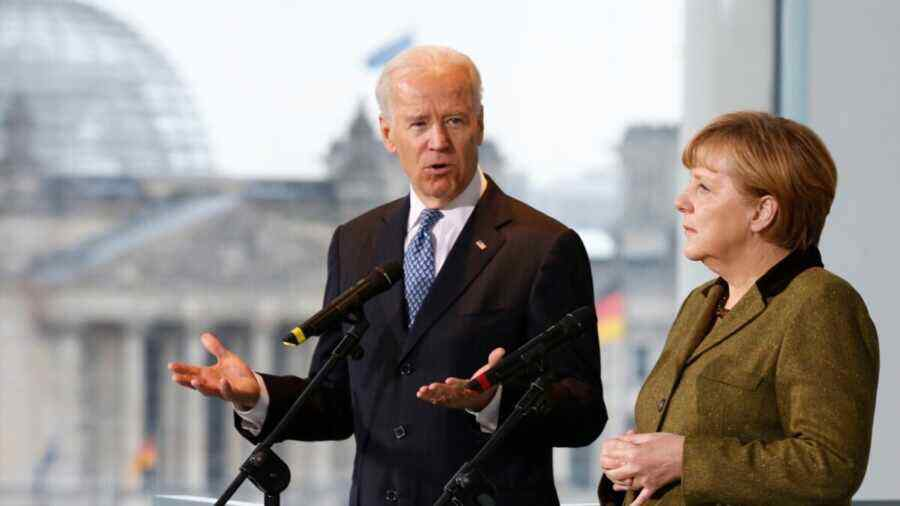 Bloomberg: Merkel humiliated Biden with decision to support Nord Stream 2