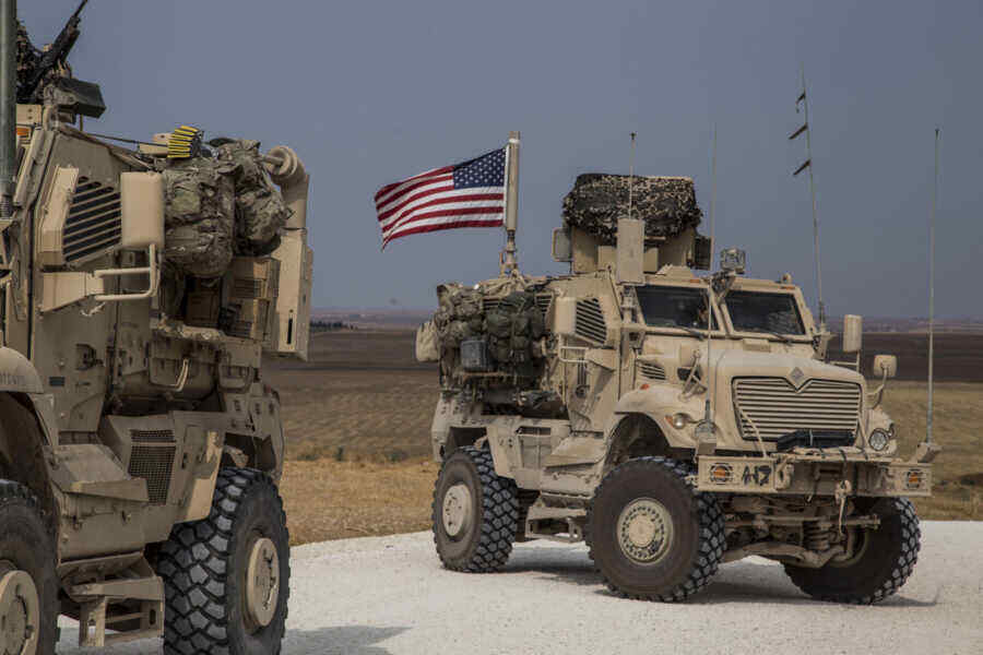 US military comes under fire in eastern Syria