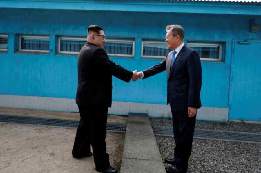 South Korean and DPRK leaders agree to re-establish communication channel between the countries
