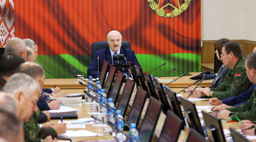 Lukashenko: if necessary for the security of the Union State, the Armed Forces of Russia will enter Belarus
