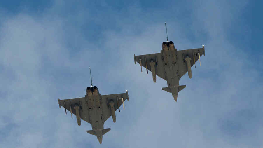"""NATO announced the """"interception"""" of Russian aircraft over the Baltic"""