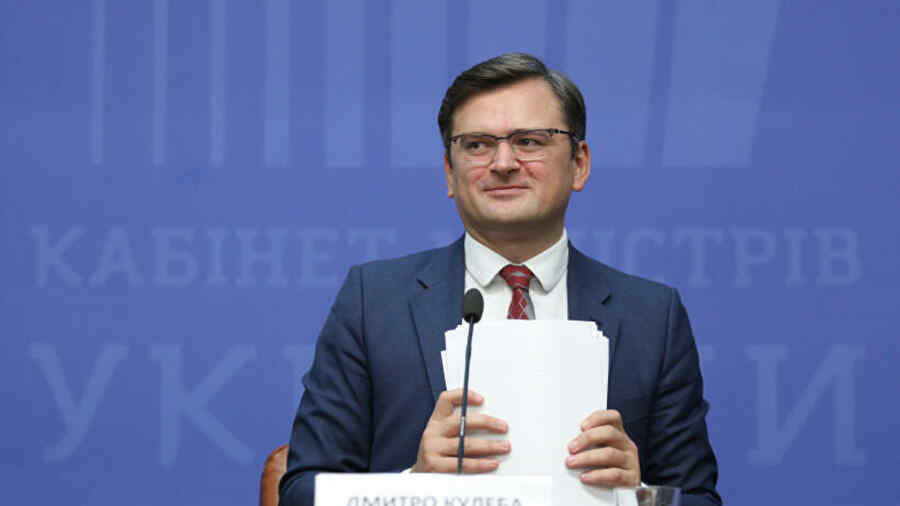 Head of Ukrainian Ministry of Foreign Affairs says the country will first join NATO, then the EU