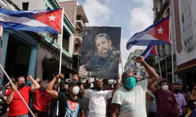 Americans test the strength of Cuban socialism