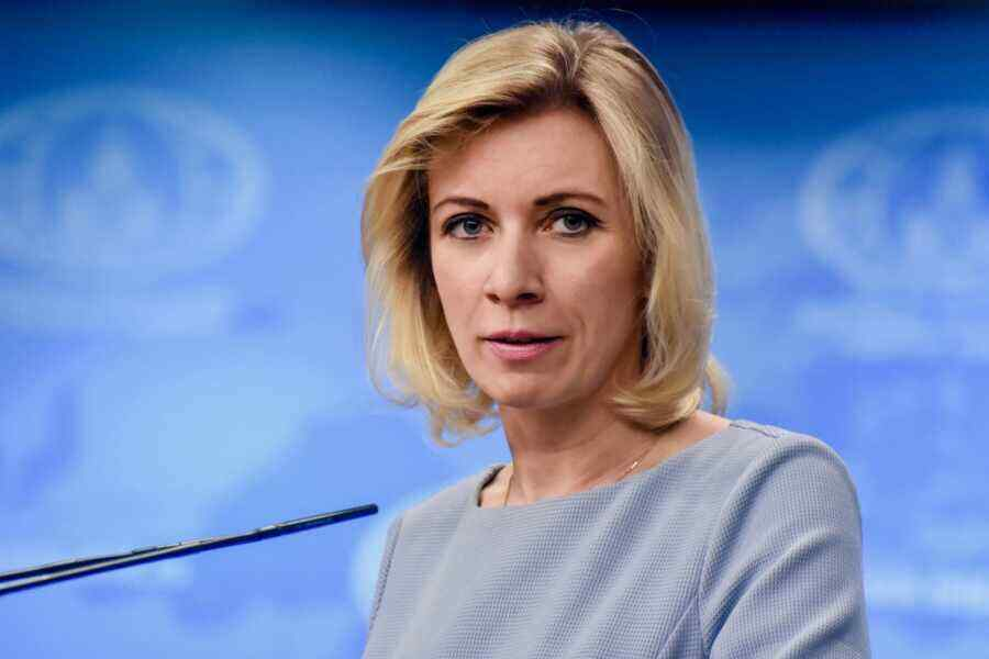 """Zakharova suggested the US """"clean up its small footprint"""" in Iraq, Libya, Afghanistan and Syria"""