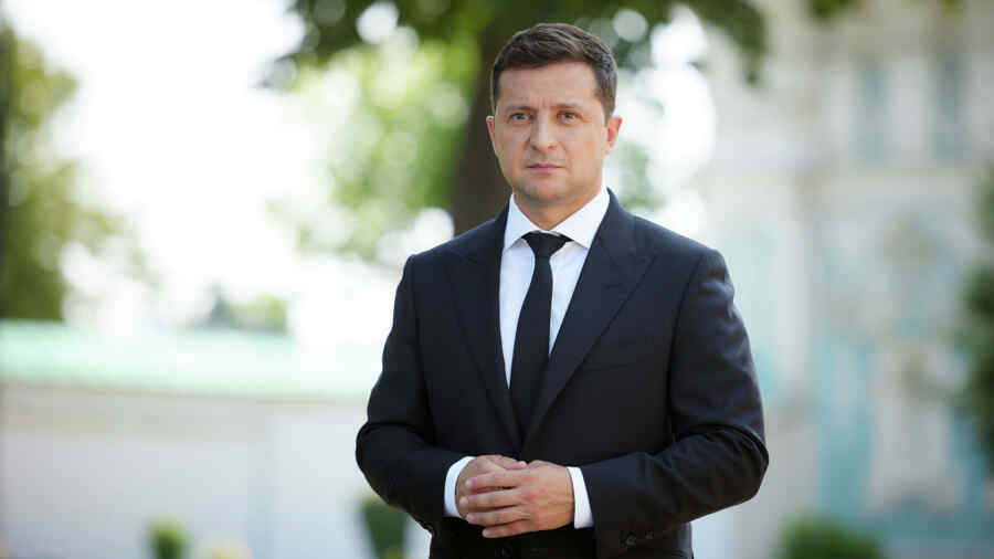 """Zelensky said Donbass """"will never be Russian territory"""""""