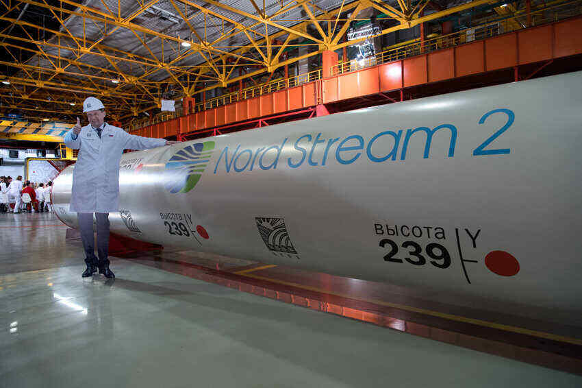 Europe and the US oppose Nord Stream 2