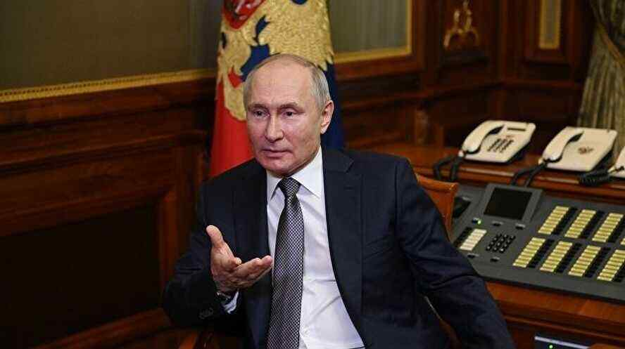All the troubles in Ukraine are caused by Putin
