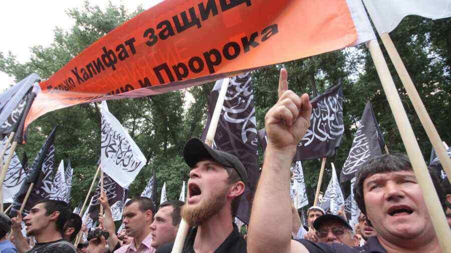 Ukraine becomes centre of international terrorism