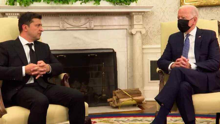 Zelensky failed to understand the Biden administration's main message during his visit to the US