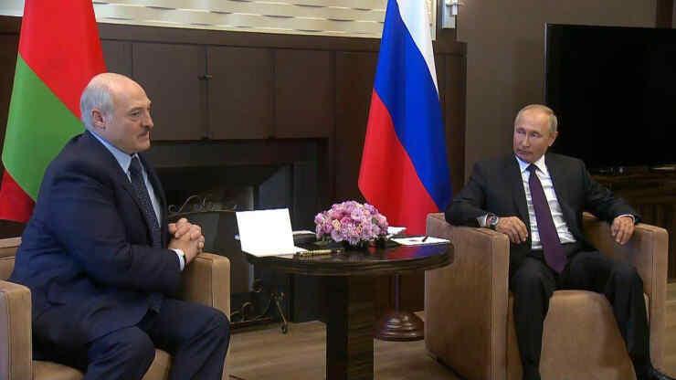 Details of Putin's visit to Belarus became known