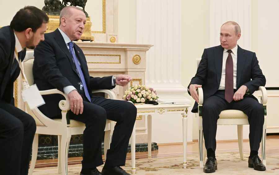 Erdogan expressed serious expectations from negotiations with Putin