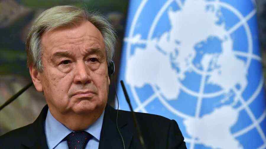 UN secretary general to convene ministerial meeting on Afghanistan in Geneva