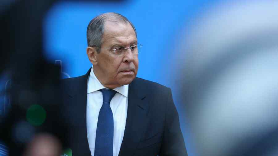 Russian Foreign Minister says West declares war to Russian media