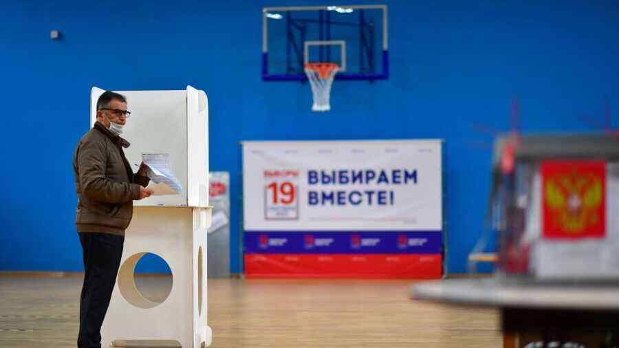 Kiev refuses to recognise results of Russian Duma elections