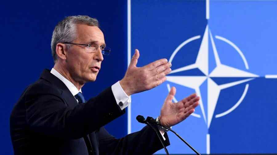 NATO Secretary General urged Europe not to compete with the alliance