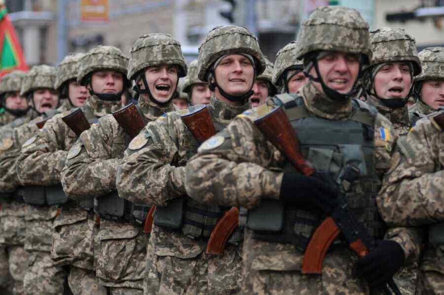 Servicemen refuse to go to Donbass