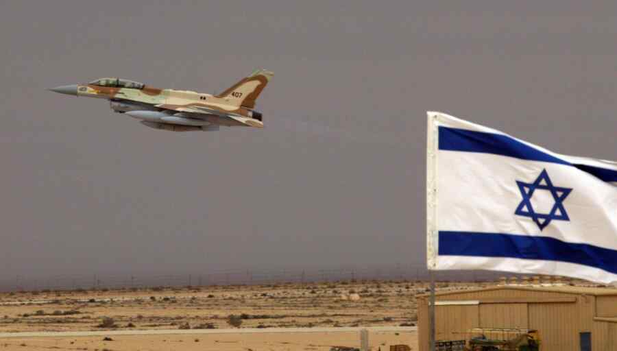 Israeli Air Force attacked Hamas military installations in the Gaza Strip
