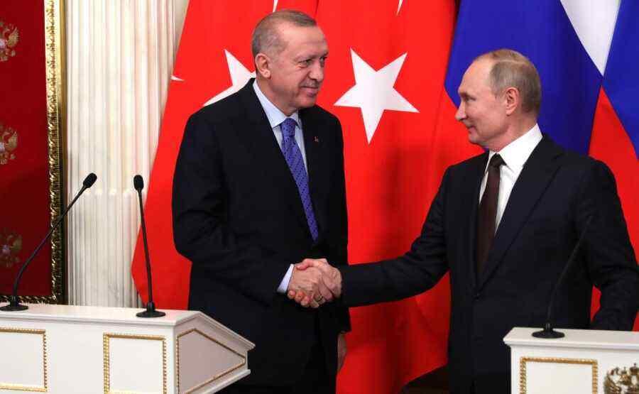 Erdogan to meet Putin in late September