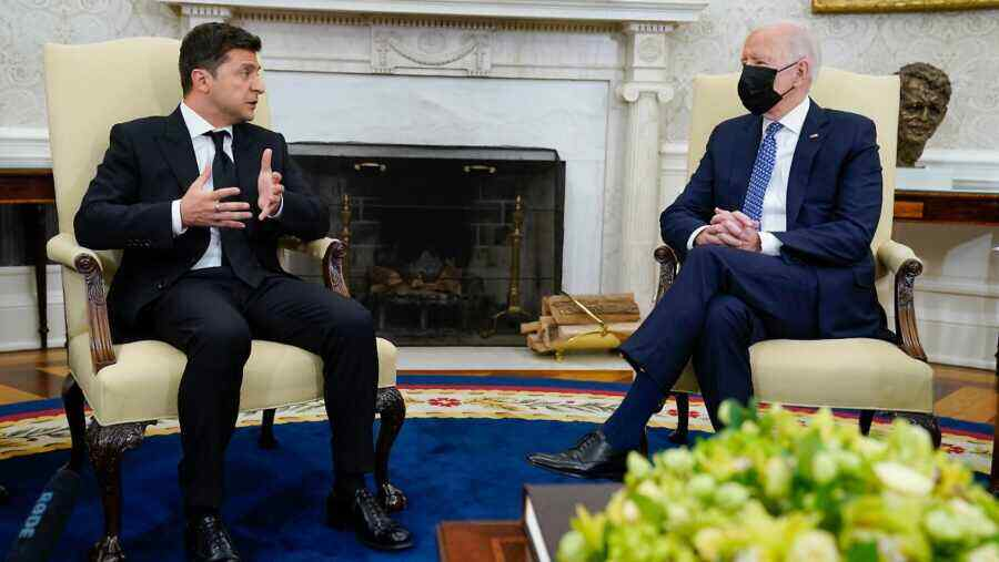 Kiev is already waiting for Biden with a return visit