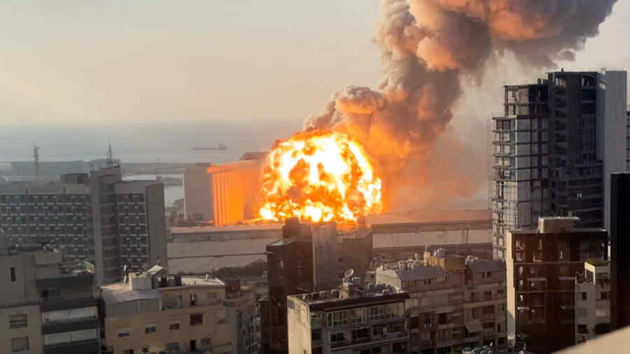 Powerful explosion of chemicals in Beirut a year ago may be associated with Ukrainian businessmen