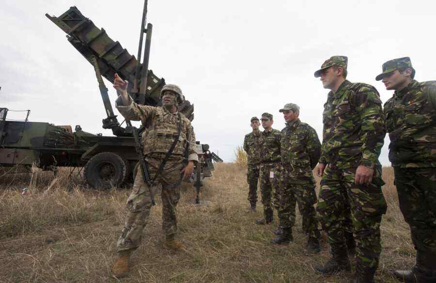 Under the guise of fighting smuggling, Romania aims its air defence systems at Ukraine