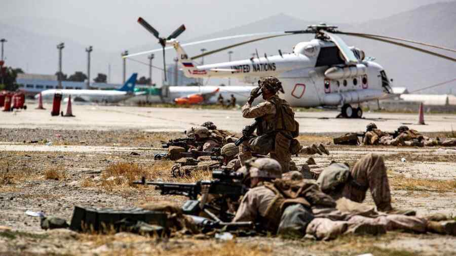 The failure of the United States in Afghanistan created a gap for global terrorism